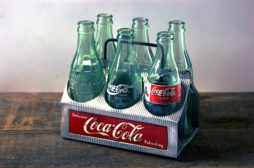 Coke Aluminum 6-pack #2